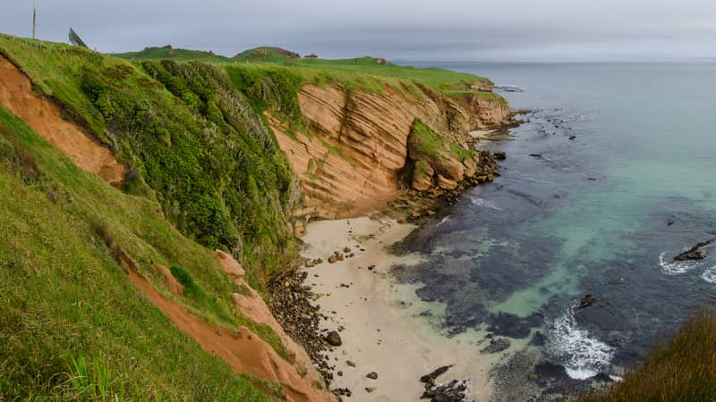 Geologists and archaeologists visit the Chathams to study its unusual rock formations.