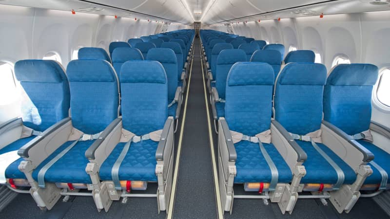 Korean Air's first 737-900ER featuring the new Boeing Sky Interior