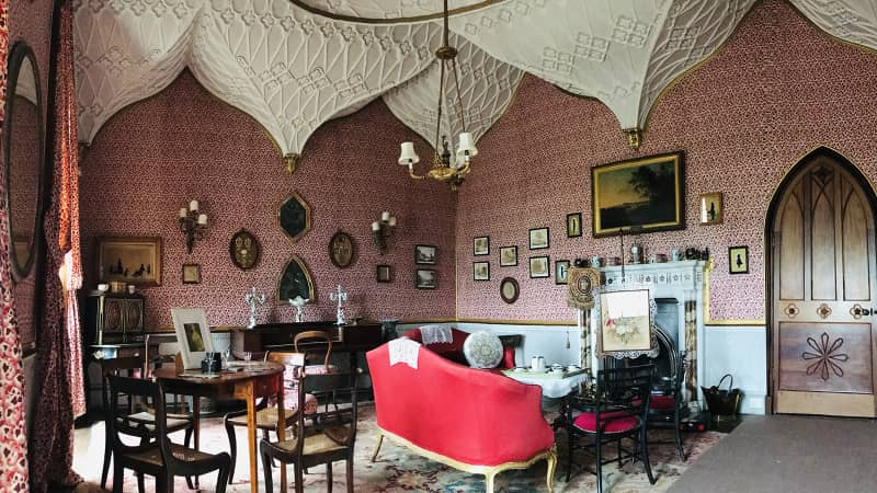 The Boudoir at Castle Ward