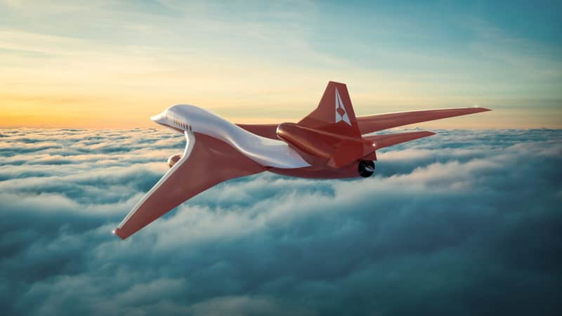 Aerion AS2 could fly from New York to London in 4.5 hours.