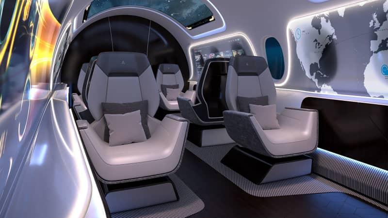 Aerion AS2 interior