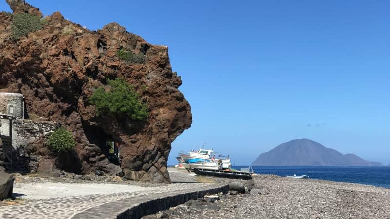Italy's Covid free islands - Alicudi
