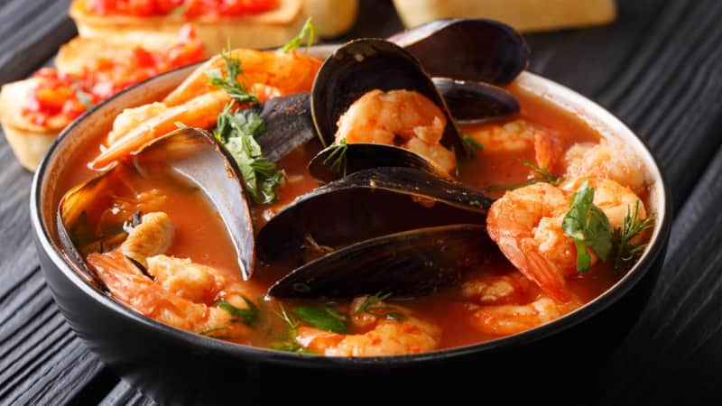 Bouillabaisse is synonymous with Marseille, France.