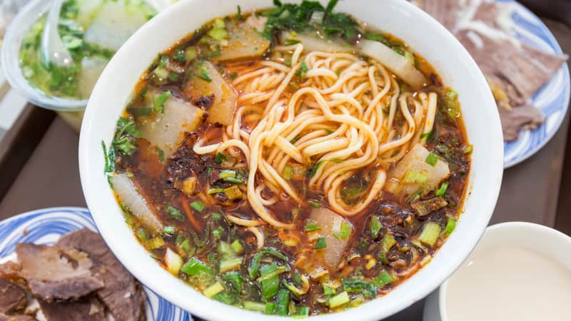 Of course a Chinese soup makes the best 20 list -- one taste of lanzhou beef noodle soup will tell you whyl