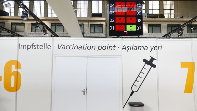 A vaccine center at the former Tempelhof Airport in Berlin started operating on March 8. Some American expats are flying to the US to get vaccinated more quickly.