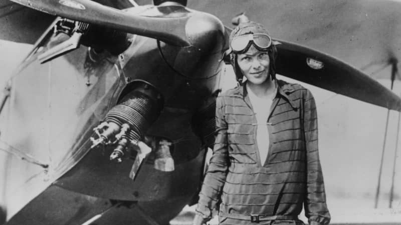 Amelia Earhart was an early member of the society and the recipient of its first ever gold medal.