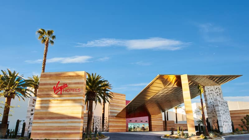Virgin Hotels Las Vegas opened this March.