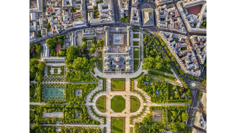The gardens of the Palais du Luxembourg