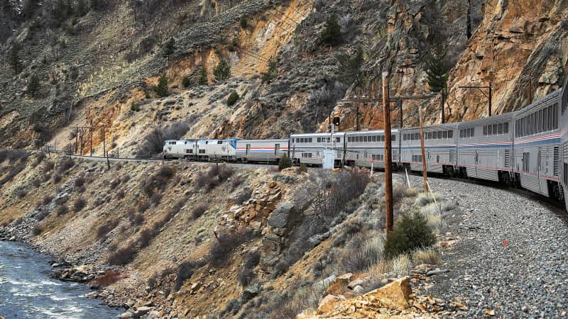 With airlines slashing short-haul routes in America, some see trains as the answer.