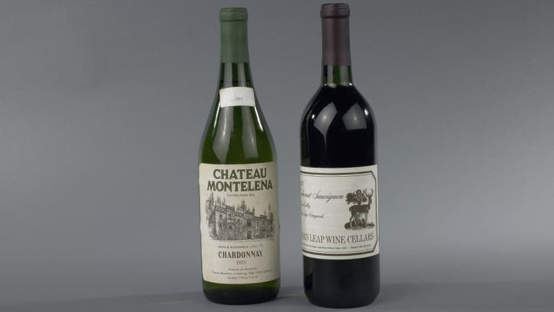 The American wines were brought across with a group of 30 Californian winemakers.