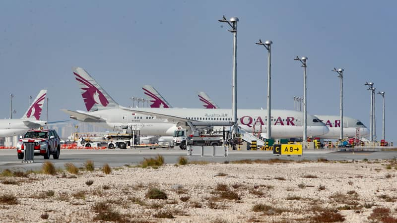 The Belarus airspace ban recalls similar action taken against Qatar by its neighbors in 2017.