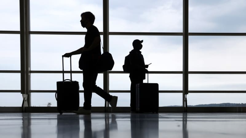 The number of air travelers has been ticking up in the US.