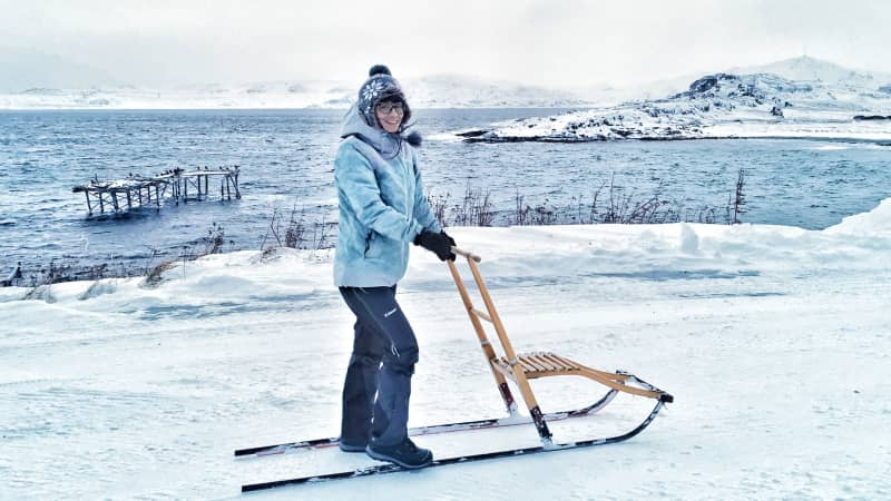 Valentina Miozzo moved from Italy to Norway's Arctic Circle during lockdown.