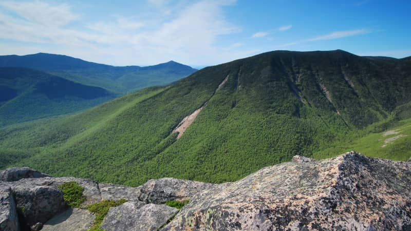 White Mountain National Forest in eastern New Hampshire and western Maine offers ample opportunity for outdoor adventure.