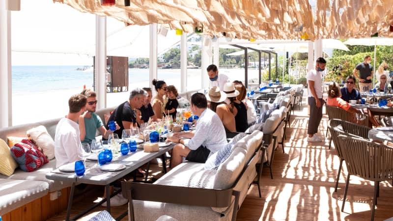 Chiringuito Blue, Hotel Rioma