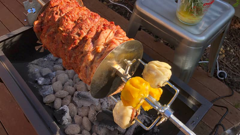 Dim sims on the barbie? Why not.