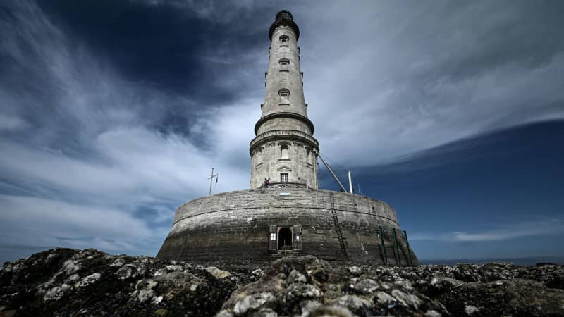 The Cordouan lighthouse, off the coast of Le Verdon-sur-Mer, France, was added to the UNESCO World Heritage List in 2021.