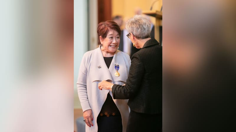 Elizabeth Chong was awarded the Queen's Birthday Honour medal in 2019 for her services to Australia's hospitality sector.