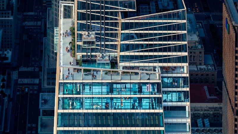 Summit One Vanderbilt will open at the One Vanderbilt tower in Manhattan on October 21.