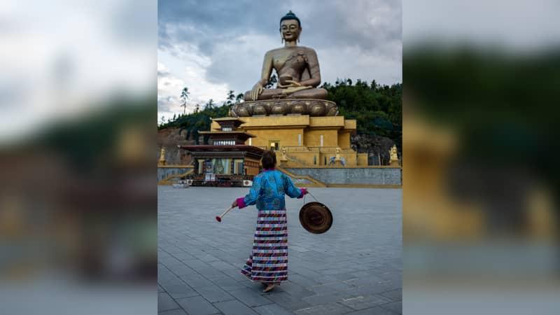 Fran Bak on her first trip to Bhutan.