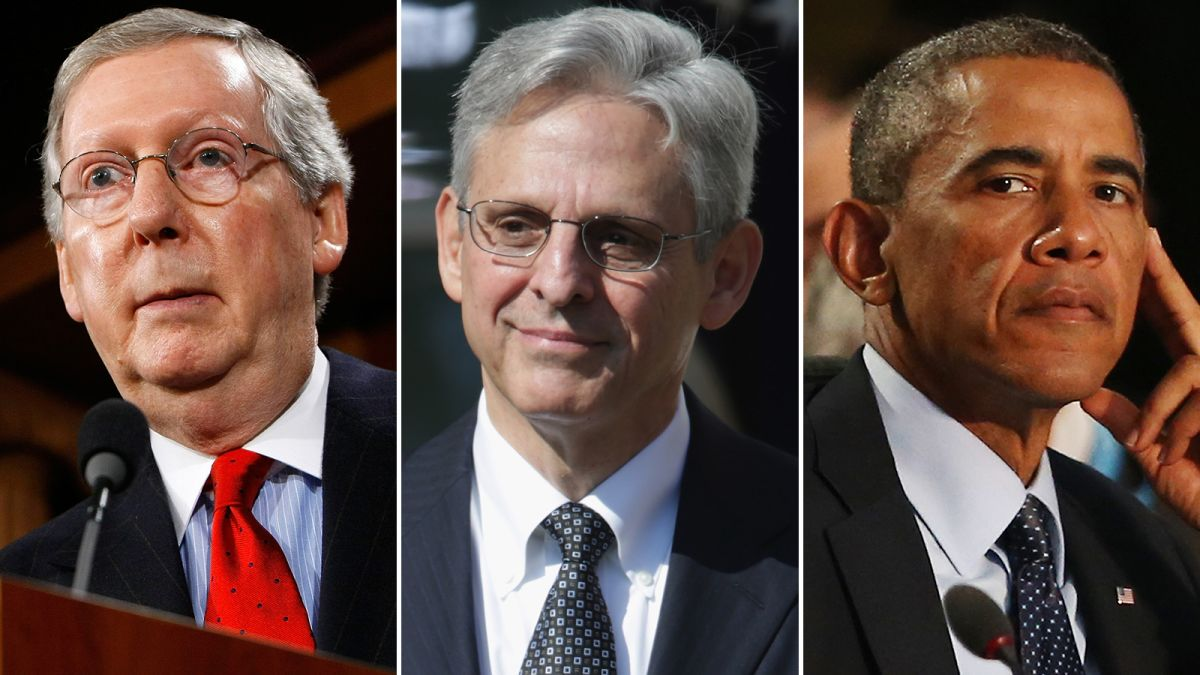 How McConnell won and Obama lost the Merrick Garland fight