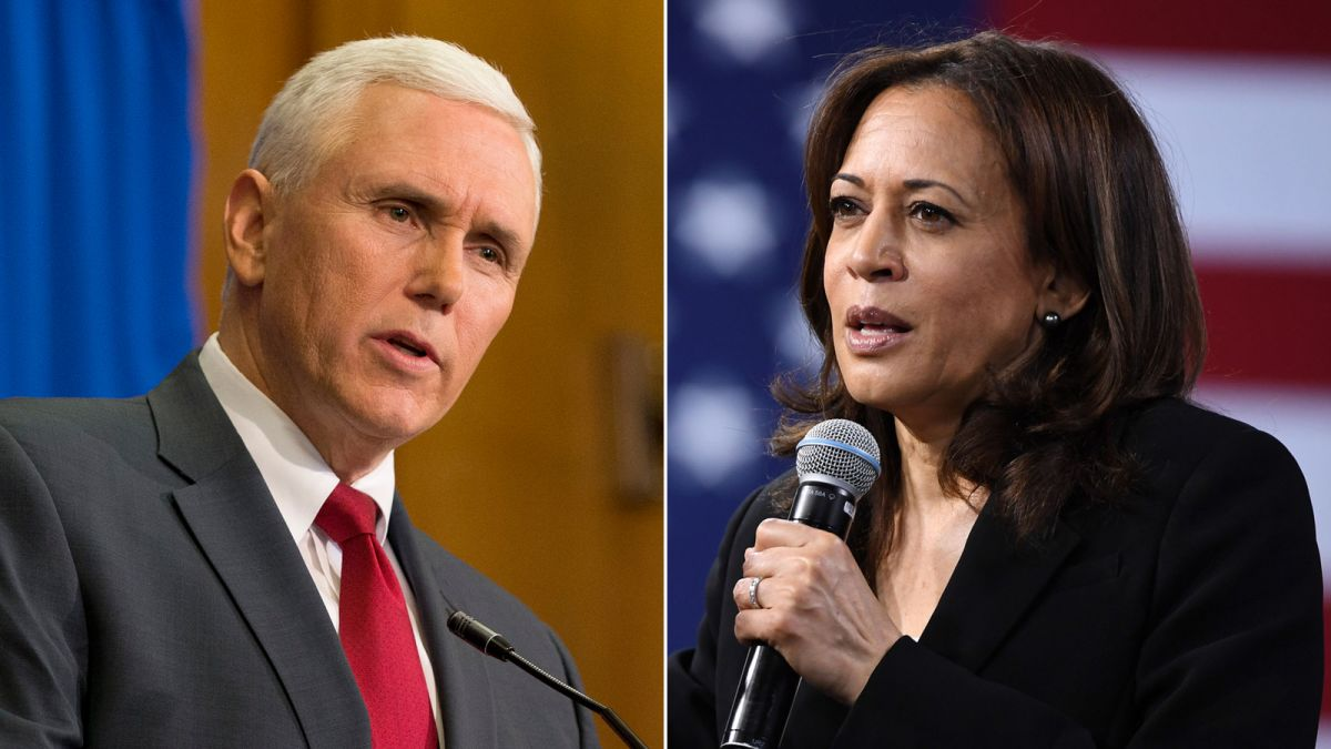 Kamala Harris and Mike Pence scheduled to face off at October ...