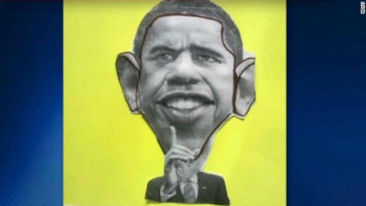 Students' Obama cartoons spark uproar - CNN