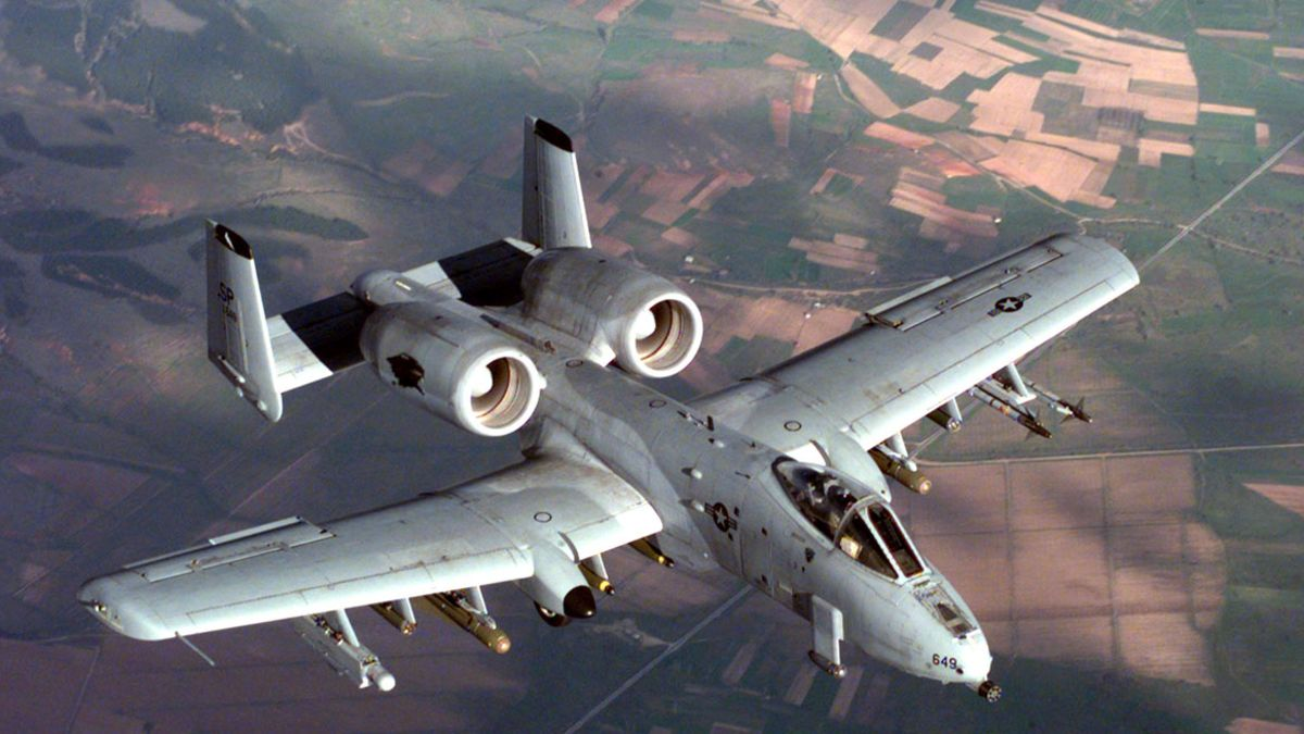 The cost of an A-10 flight hour is $ 6,000