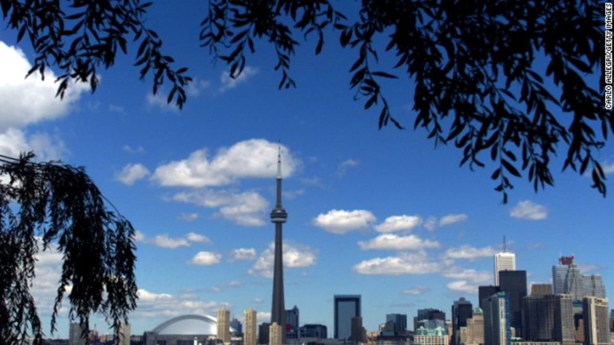 Cn Tower Fast Facts Cnn