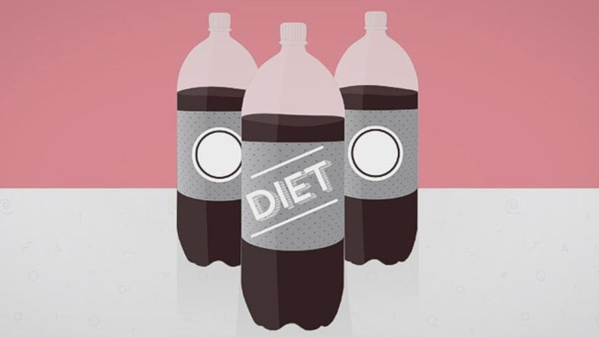 Drinking two or more diet sodas a day linked to high risk of