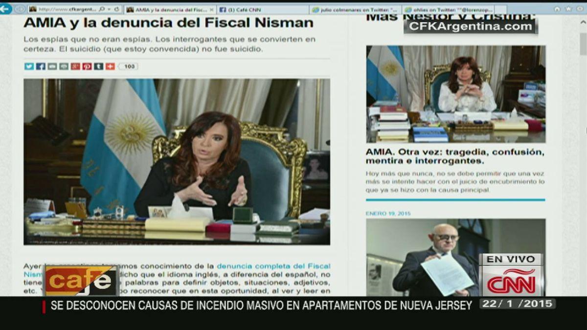 Cristina Fernández cambia de versión - CNN Video