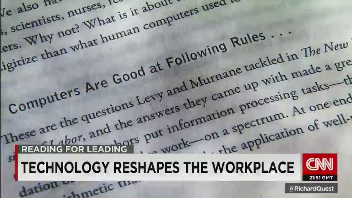 Technology reshapes the workplace