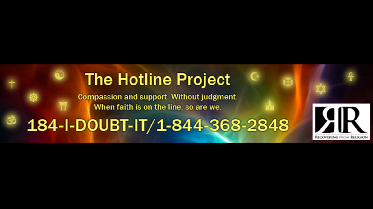 1-84-I-DOUBT-IT: A new helpline for troubled atheists - CNN