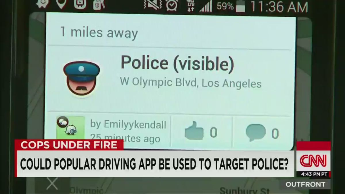 Google is endangering police officers (Opinion) - CNN