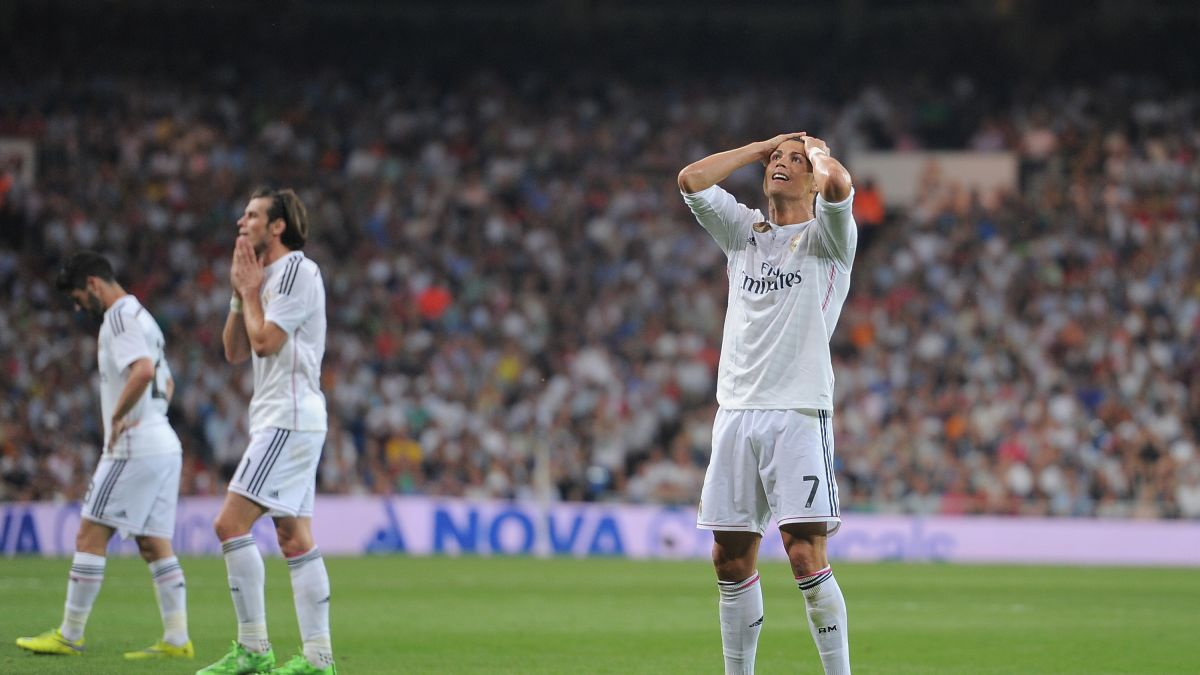Cristiano Ronaldo Misses Penalty In Real Madrid Draw Cnn