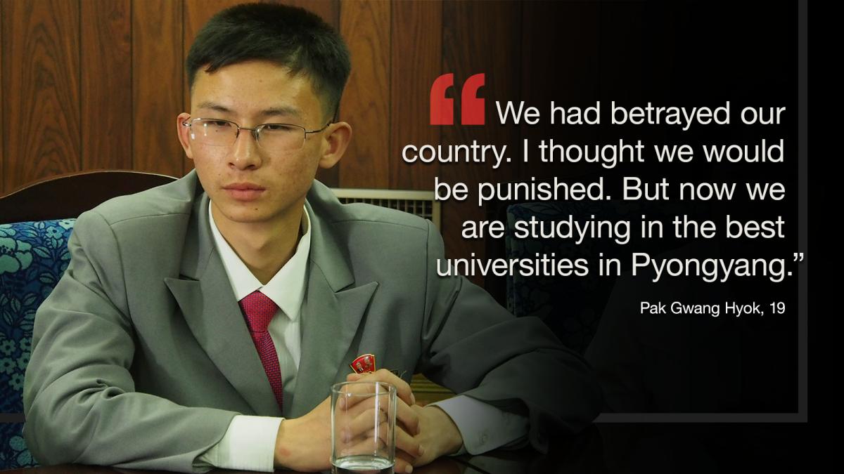 Traitors no more? North Korean defectors 'forgiven' - CNN