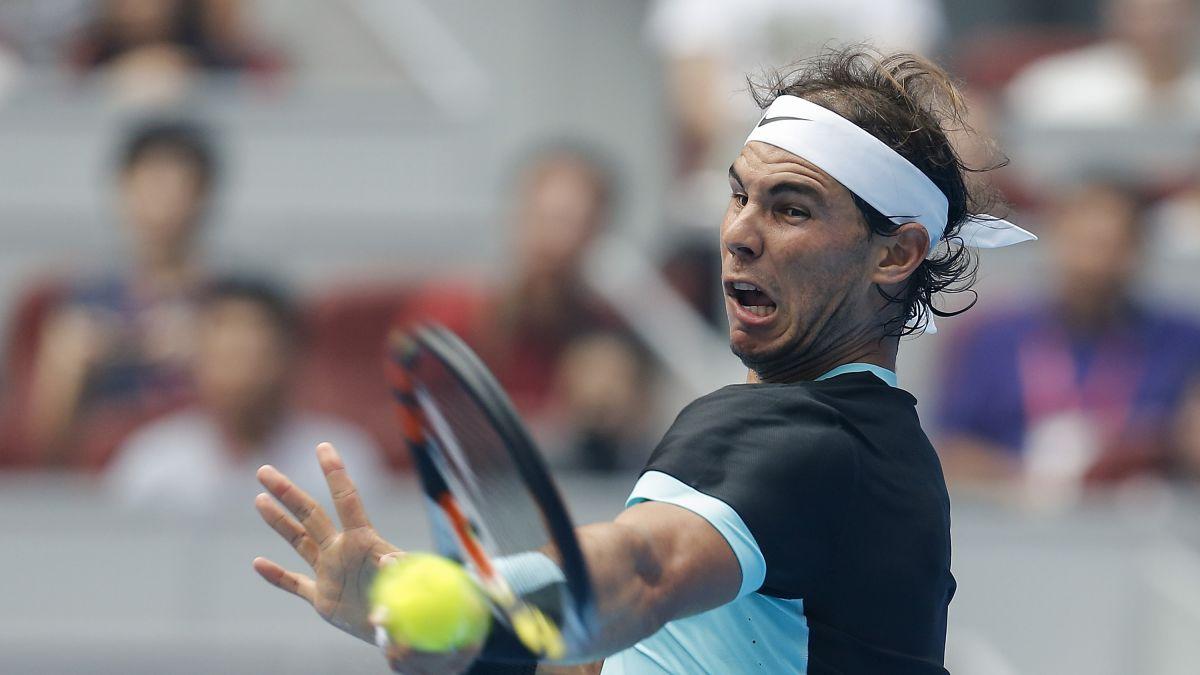 Rafael Nadal Toils Against Chinese Wildcard Cnn