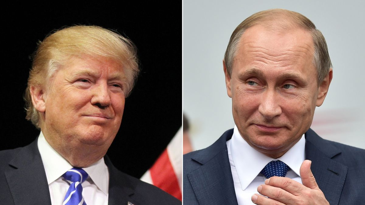 Donald Trump On Vladimir Putin In His Own Words Cnnpolitics