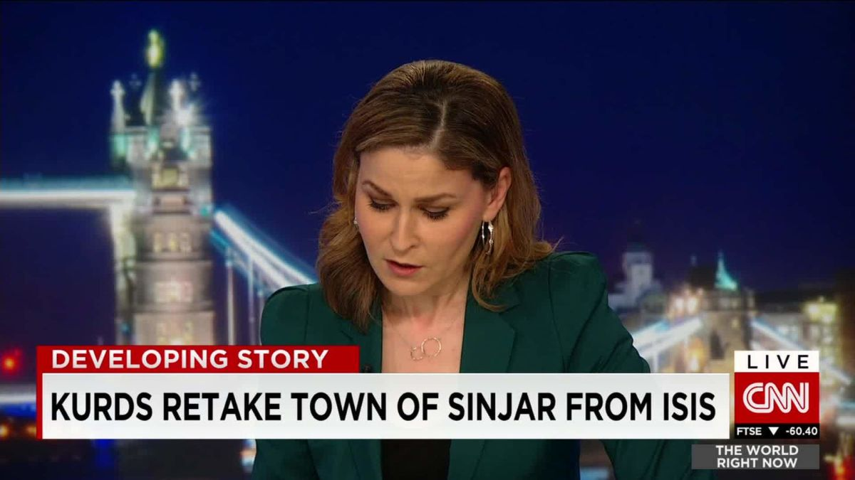 Kurds retake town of Sinjar from Isis