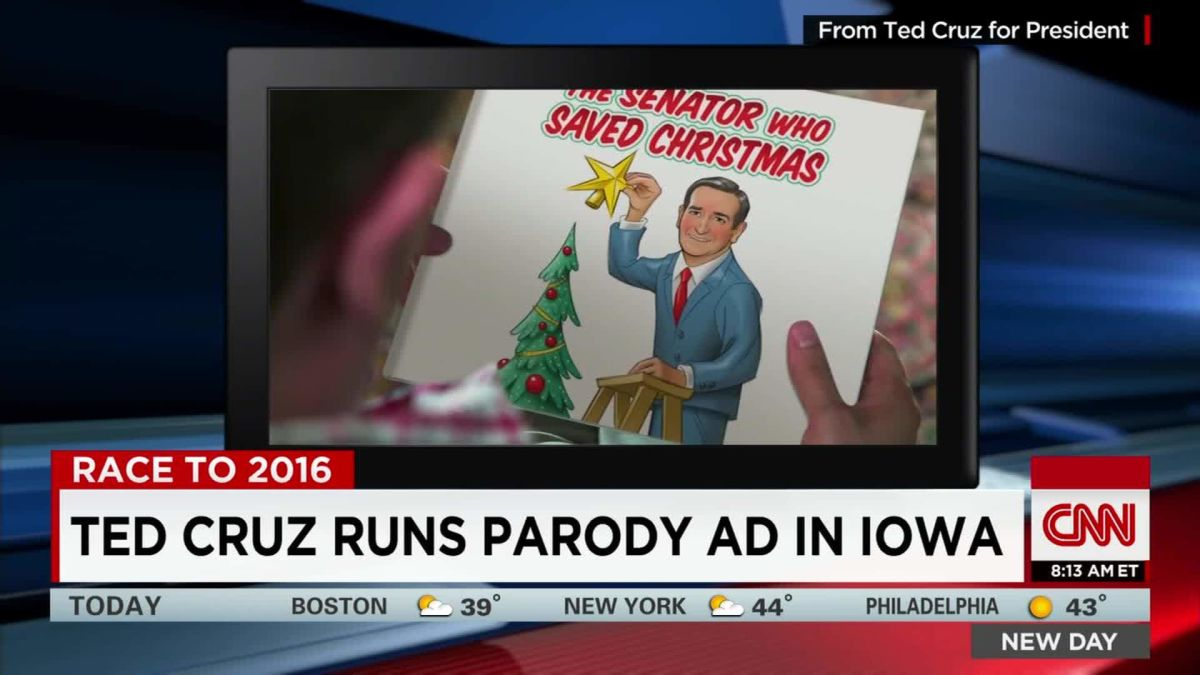 Ted Cruz runs parody ad in Iowa - CNN Video