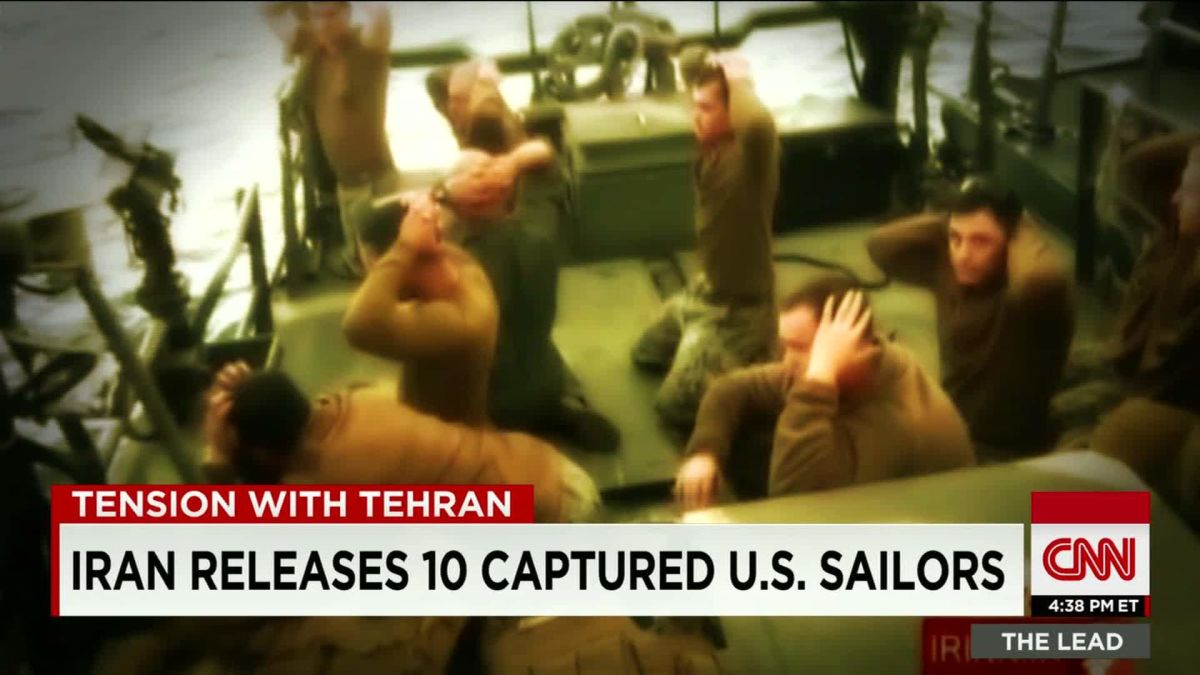 Navy report: Failure at every level for US ships captured by