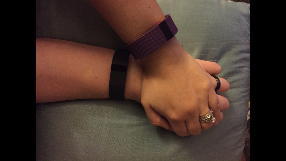 Couple never expected their Fitbit would tell them this