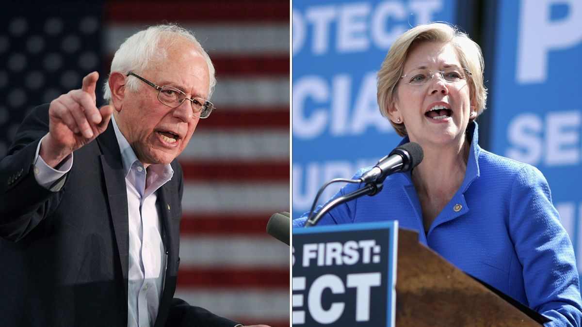 Elizabeth Warren is the star who may eclipse Bernie Sanders