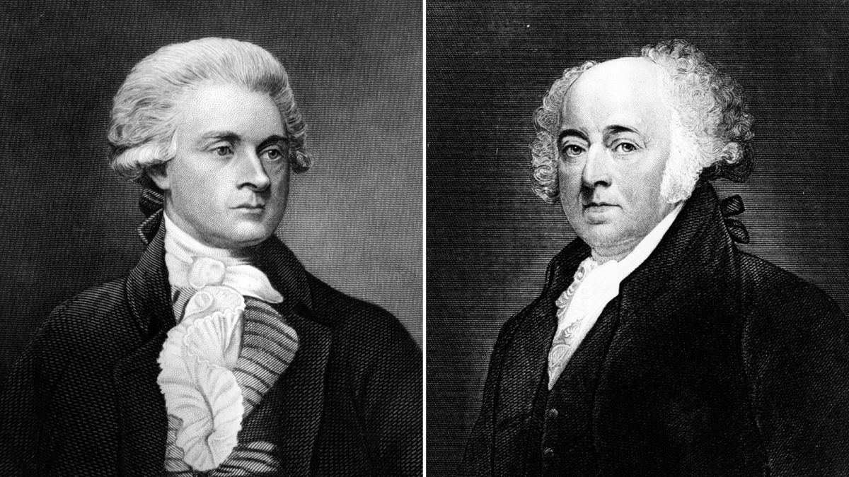 Feuding Founders John Adams And Thomas Jefferson Both Died On July