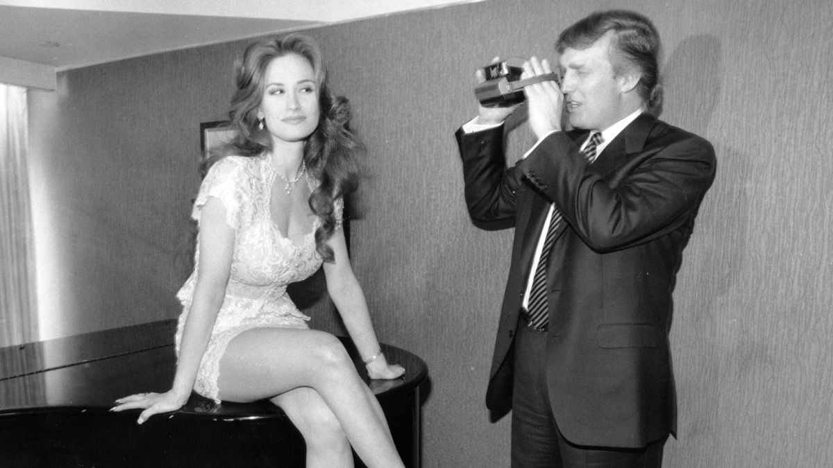 Donald Trump took Polaroids, interviewed models in 1994 Playboy video