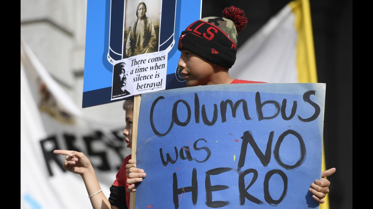 On Columbus Day, support grows for Indigenous Peoples Day | CNN