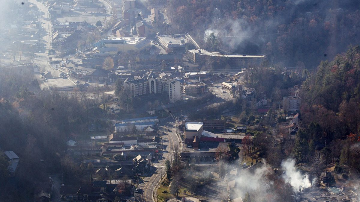 Gatlinburg photos: Before and after the fire - CNN