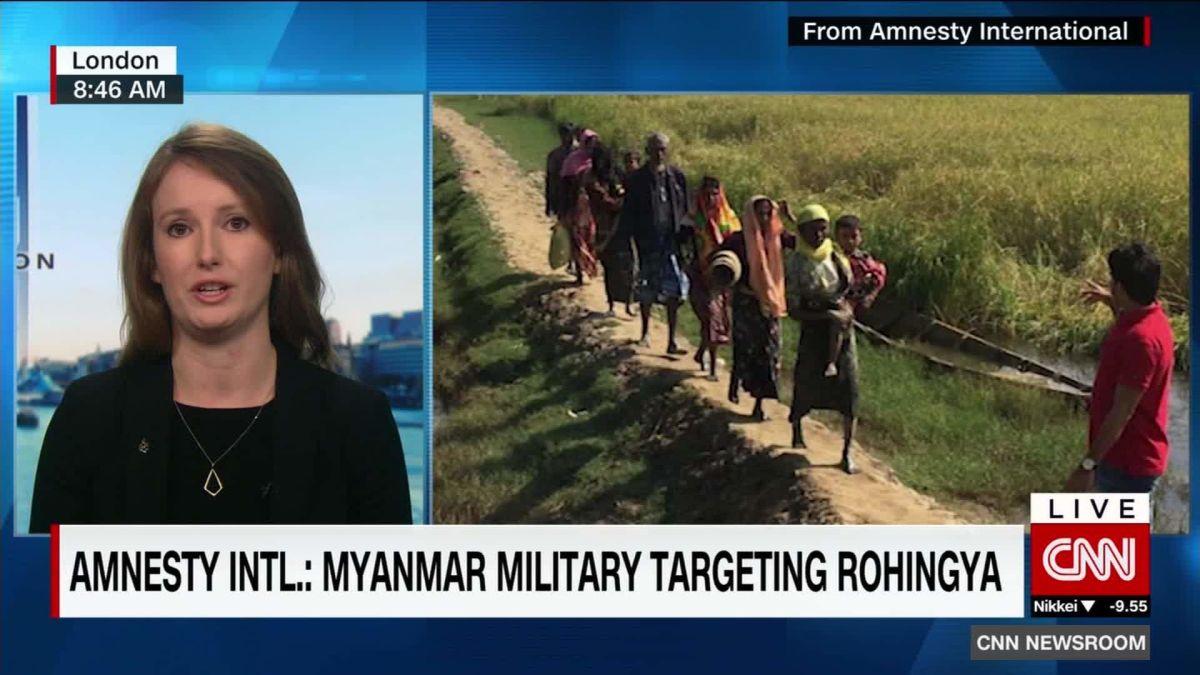 Are Myanmar soldiers raping Muslim women? - CNN Video