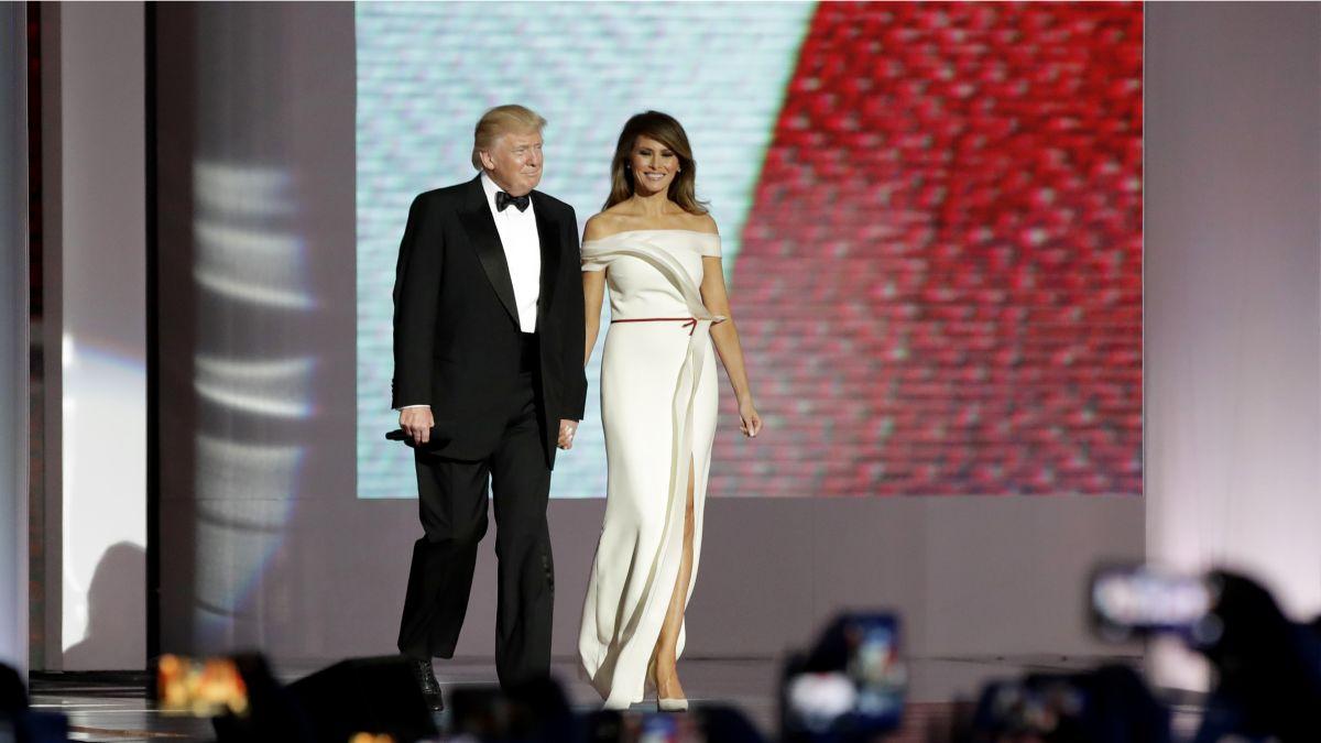 Trump S Fashion On Display At Inaugural Ball