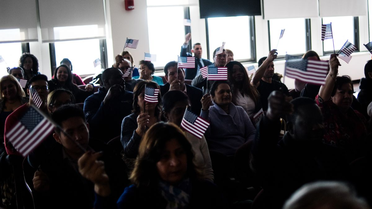 Reborn in the USA: Inside a citizenship ceremony - CNN
